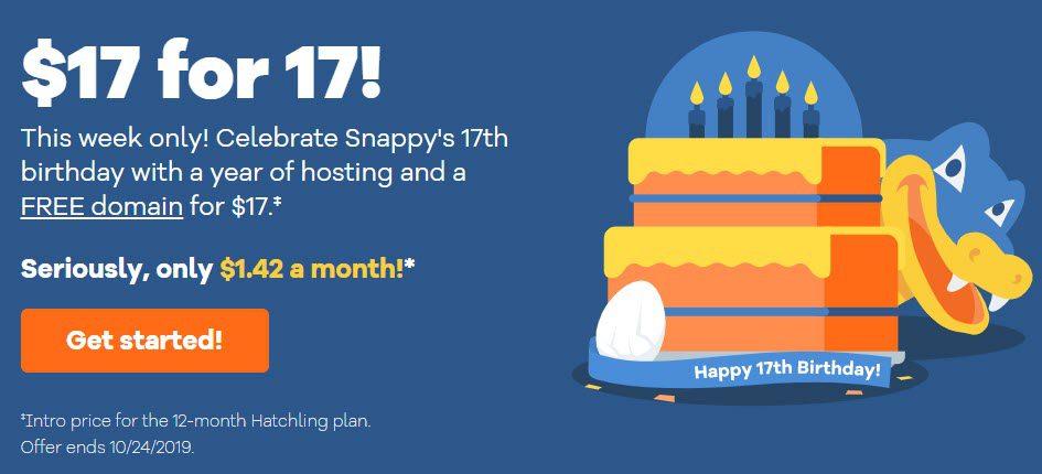 HostGator Anniversary Deal