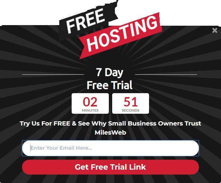 MilesWeb Free Trial
