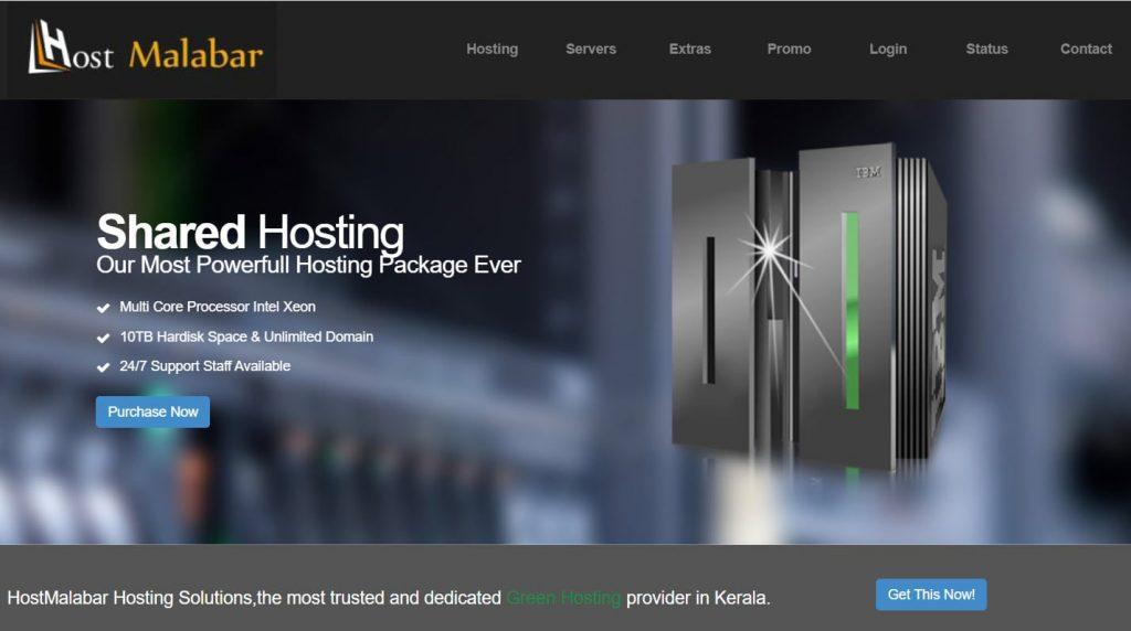 HostMalabar Hosting