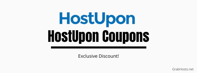 HostUpon Coupons