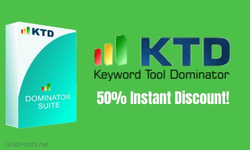 Keyword Tool Dominator Coupon Code