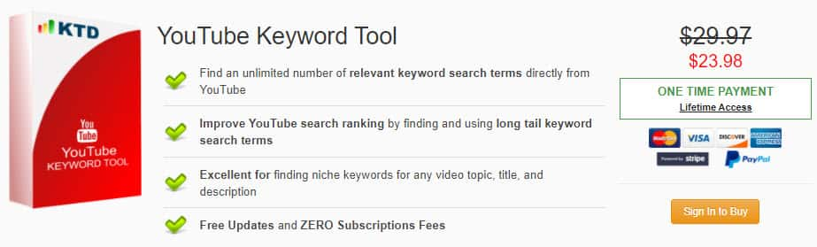 Youtube Keyword Tool Discount