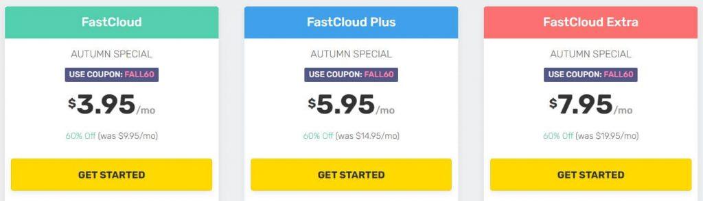 FastComet Hosting Plans